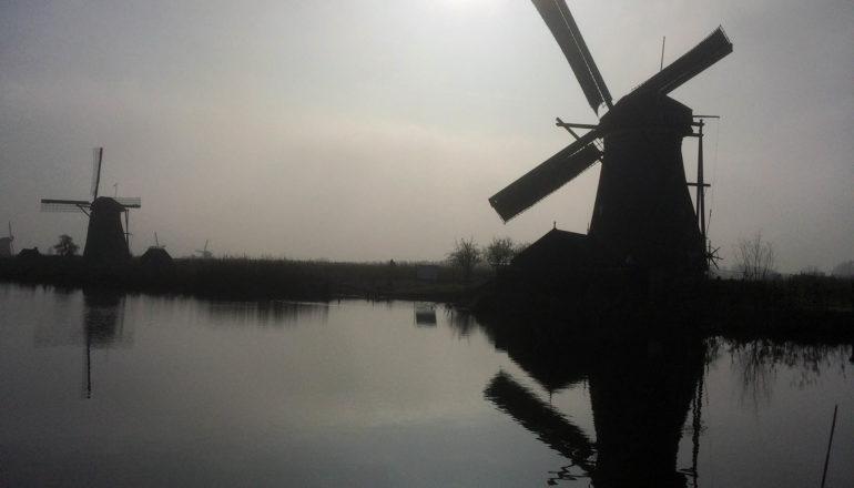 Viswater bij Hollandse Molens